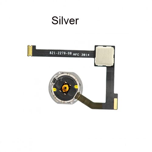 OEM for iPad Air 2 Home Button Assembly Silver