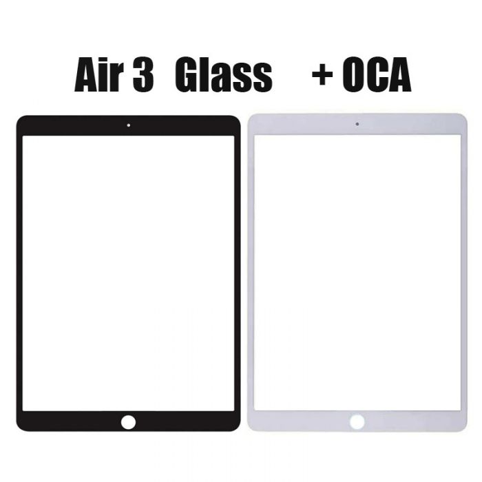 Front Glass Lens with OCA or Without OCA For iPad Air 3