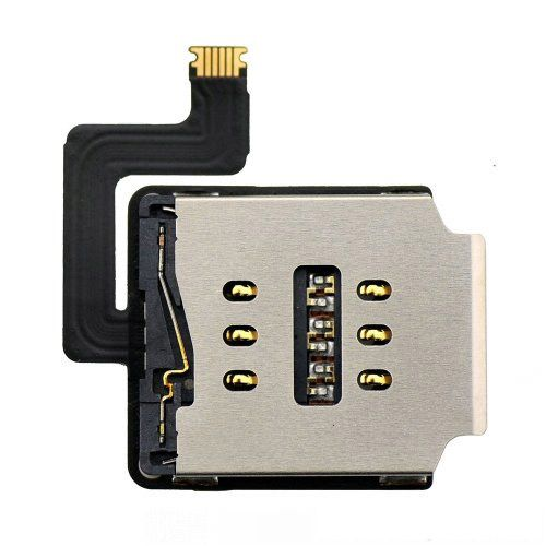 SIM Card Reader Contact with Flex Cable for iPad Air