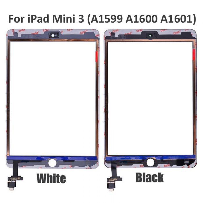 iPad Mini 3 Touch Screen Digitizer Assembly with IC TESA Tape Sticker