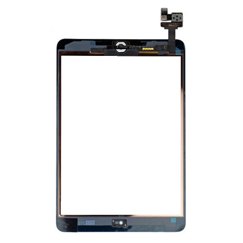 ipad mini digitizer complete IC Connector Home Flex assembly white