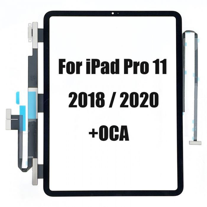 Touch Screen Digitizer with OCA or without for iPad Pro 11 inch 2020 and 2018
