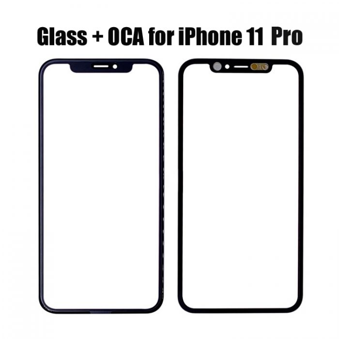 Glass with OCA Foil for iPhone 11 Pro