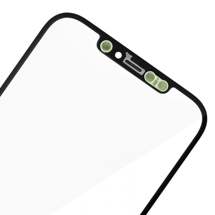 1:1 Quality Front Glass Lens with OCA for iPhone 12 mini 12 Pro max (ear mesh is installed)