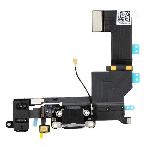 iPhone 5S Dock Connector Charging Port Flex Cable Black