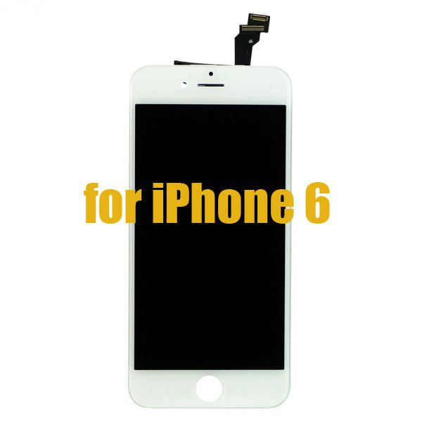 iPhone 6 lcd screen touch digitizer assembly white