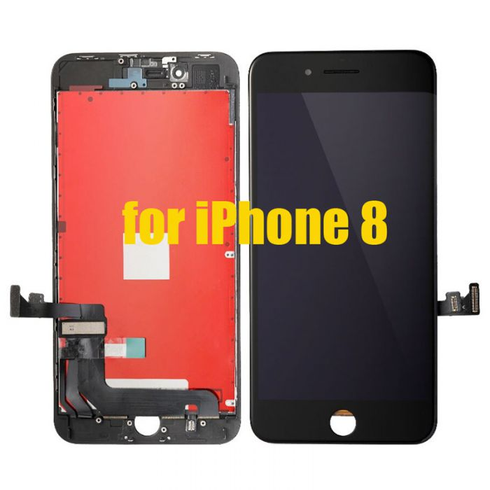 Aftermarket LCD Screen Digitizer Assembly for iPhone 8 Black