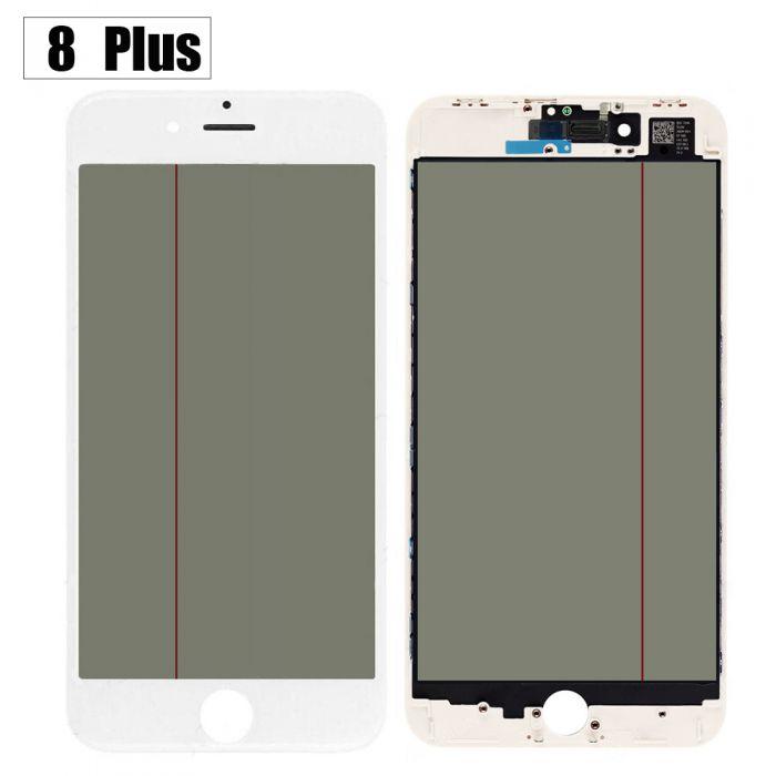 iPhone 8+ Plus Glass Screen with OCA Foil Polariser 4 in 1
