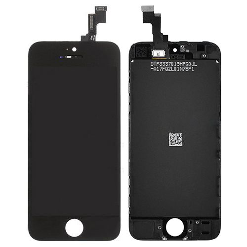Black Touch Glass LCD Screen Digitizer for iPhone SE