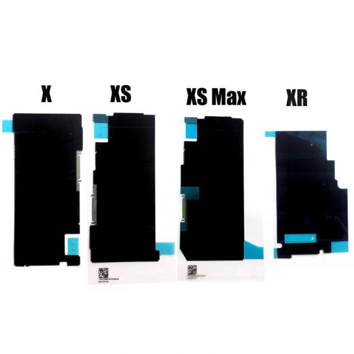 iPhone X LCD Sticker Black Heat sink sticker