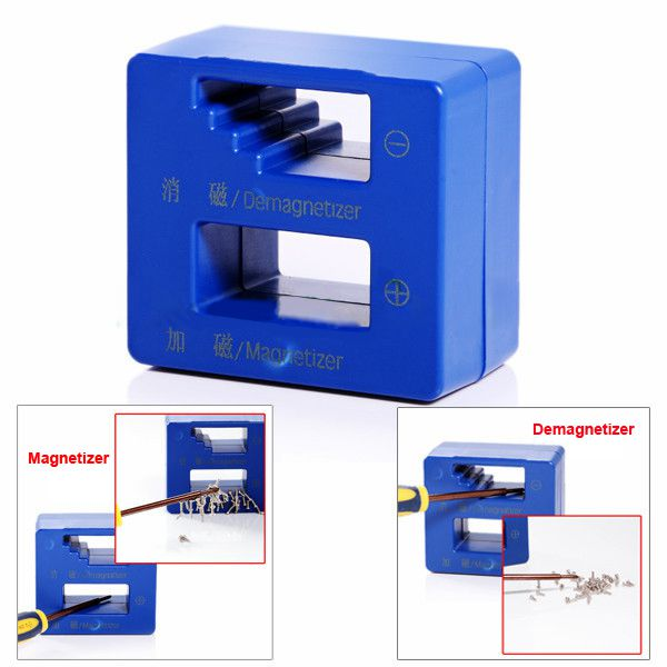 Magnetizer and Demagnetizer Magnetic Tool for Screwdrivers