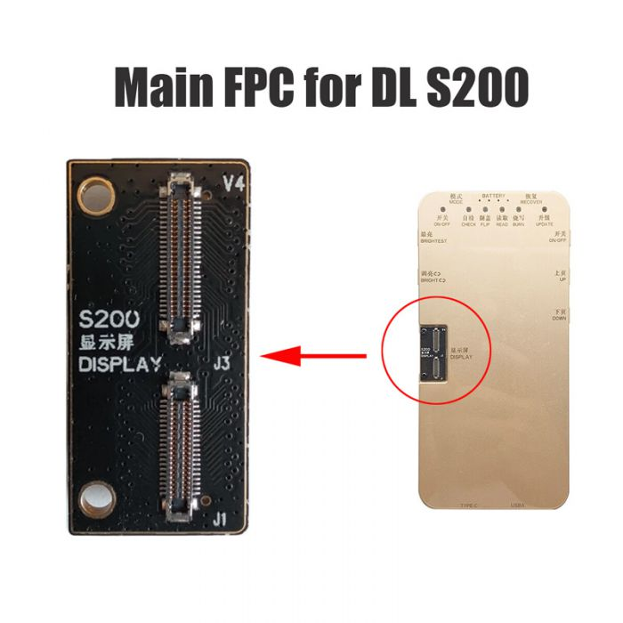 Main FPC Connector for DL S200 Tester