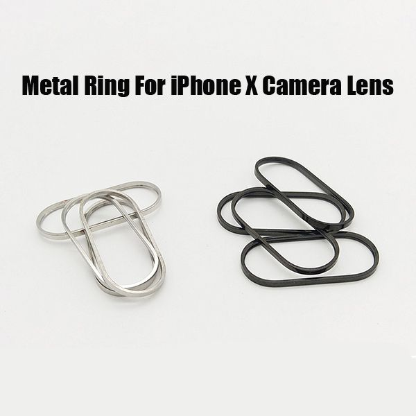 Metal Ring for iPhone X Back Camera Lens