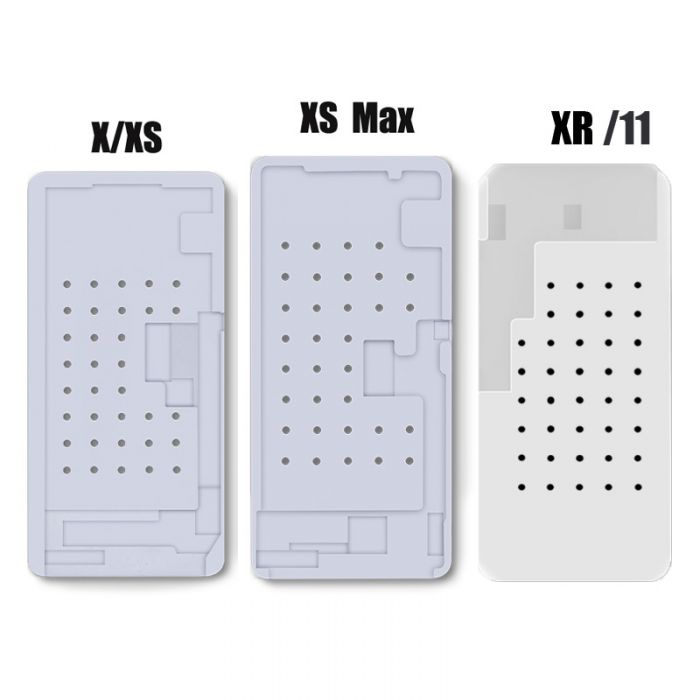 Hot Plate Separator Suction Rubber Mat Pad for iPhone X XS MAX LCD OLED OCA Glue Remove Clean