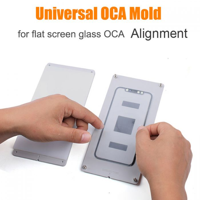 OCAMASTER Universal Mould Mold for Flat Screen Glass and OCA Alignment