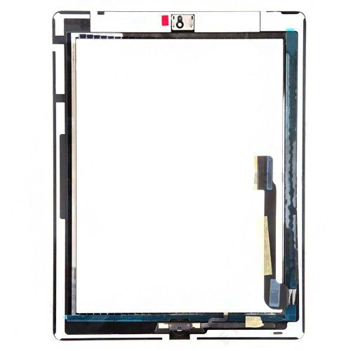 Touch Screen Digitizer Assembly with parts Black for iPad 4