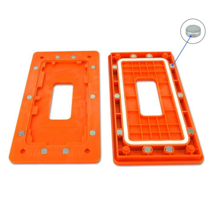 Sameking Orange Magnetic Mold Mould for iPhone 11 Pro 11 Pro Max Frame Screen Bonding