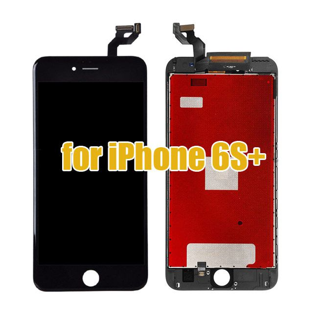 Original Black iPhone 6S Plus LCD Screen Touch Digitizer Combo Replacement
