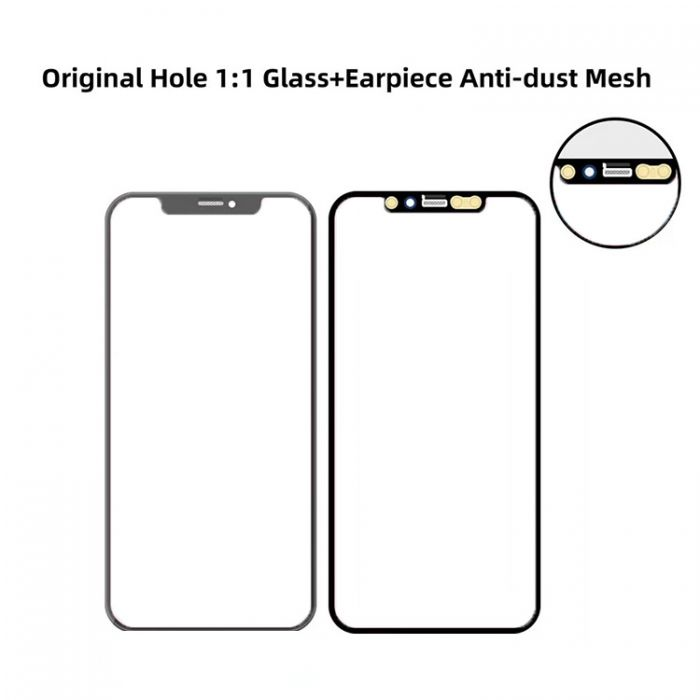 1:1 Quality Glass with OCA Foil for iPhone 11 Pro