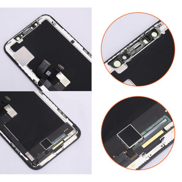 (Full Ori) Display for iPhone X OLED Screen with Touch Glass Assembly
