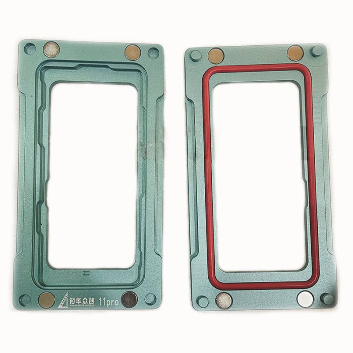 Blue Metal Magnetic Mold mould for iPhone 11 Pro Pro Max frame bezel pressing with Screen