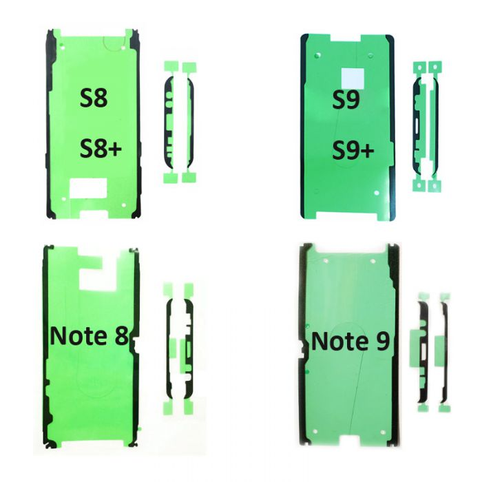Original OLED Screen Frame Adhesive Sticker Tape for Samsung Galaxy S8 S8+ S9 S9+ Note 8 Note 9