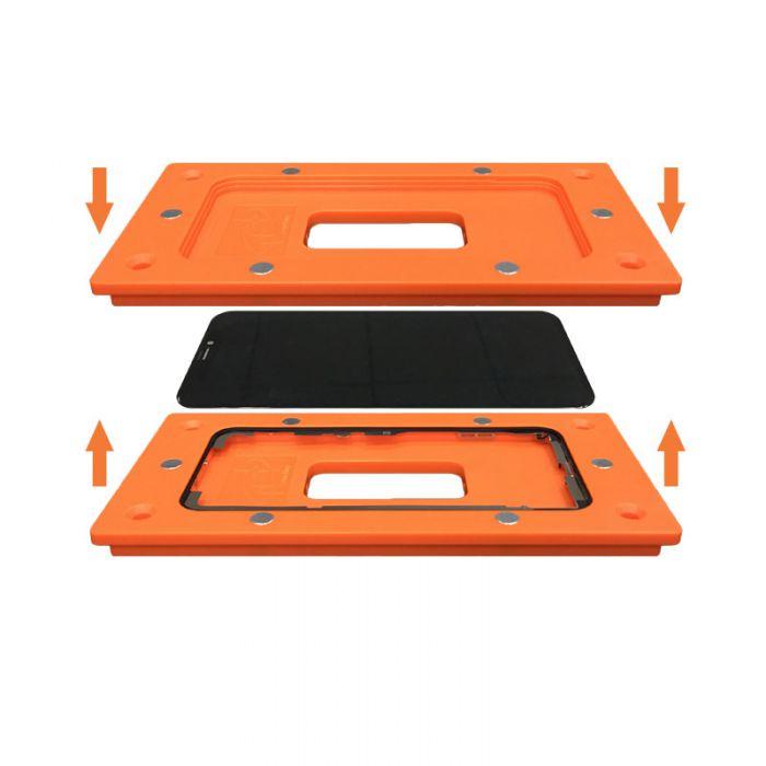 sameking Orange Magnetic Mould Mold for iPhone X Frame bezel