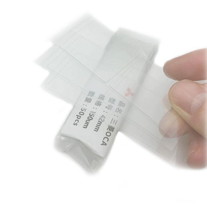 50pcs OCA Glue Foil for Apple Watch 38/42/40/44mm