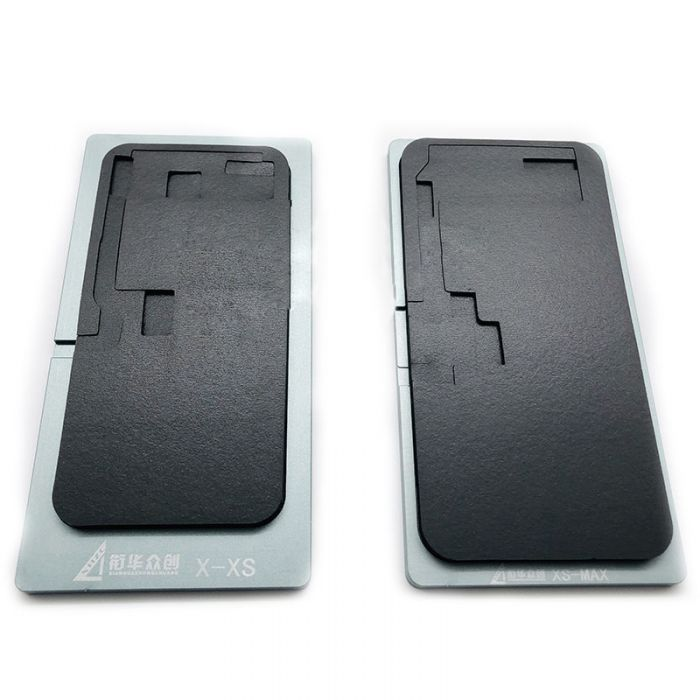 Black Mat Pad for LCD OLED Lamination with Glass Touch for iPhone X XR XS Max