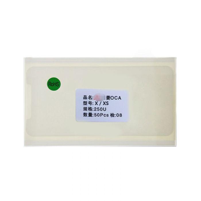 Mitsubishi OCA Glue Foil for iPhone X XS 11 Pro MAX XR 11 (50PCS)