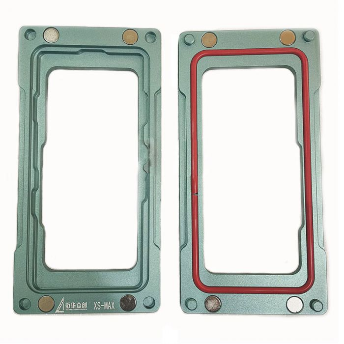 Blue Precise Magnetic Clamp mold for iPhone X XS MAX Frame Bezel Pressing