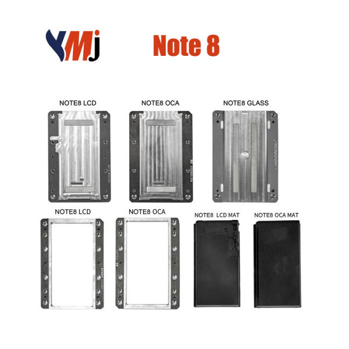 YMJ Samsung Note 8 LCD OCA Alignment Lamination Mold Mould