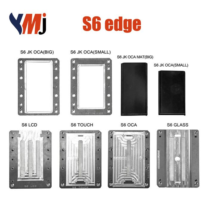 YMJ Samsung S6 Edge LCD OCA Alignment Lamination Mold Mould