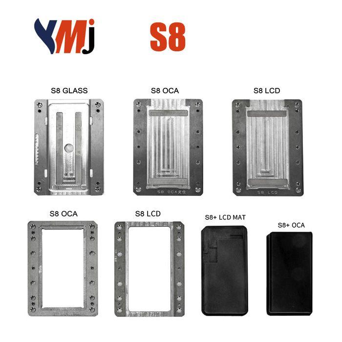 YMJ Samsung S8 LCD OCA Alignment Lamination Mold Mould