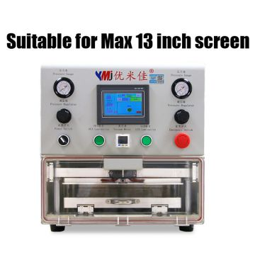 13 inch LCD OCA laminate machine for ipad tablet for Samung Edge Curved for iPhone LCD screen Refurbishing