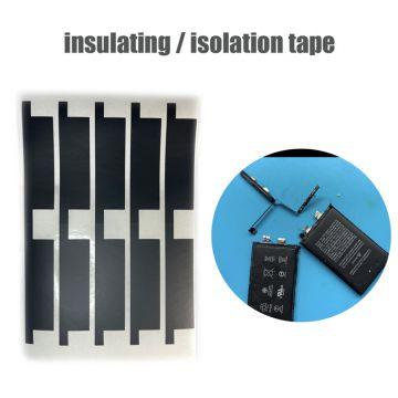 Black battery isolation tape insulating tape for iPhone battery