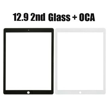 Front Glass with OCA or Without OCA For iPad Pro 12.9 2nd Gen