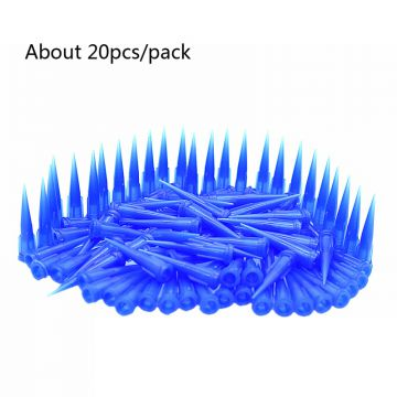 About 20PCS/Pack Needles Tips for Cold Press Glue