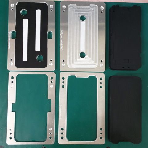 YMJ Laminating Alignment Mold Glass OCA Frame LCD Touch Laminate Mould For iPhone 12mini 12 Pro Max Display Refurbish Repair