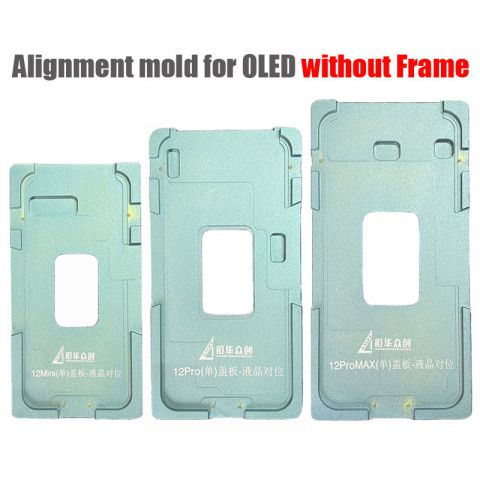 Alignment Mold Mould for iPhone 12 mini 12 Pro 12 Max Glass Touch Digitizer to OLED without frame